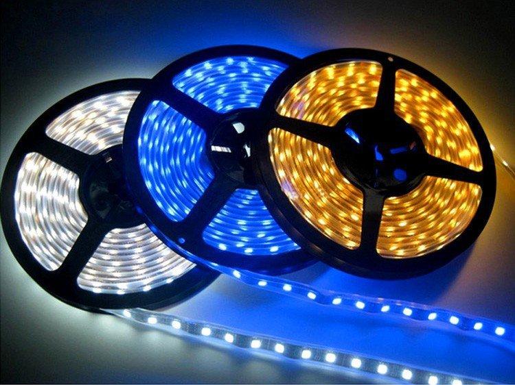 Особенности и преимущества светодиодной ленты 12 Вольт