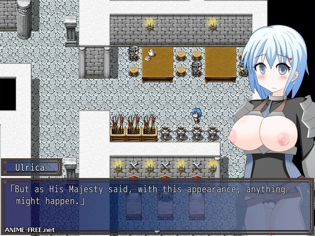 Naked Female Knight Ulrica [2017] [Cen] [jRPG] [ENG] H-Game