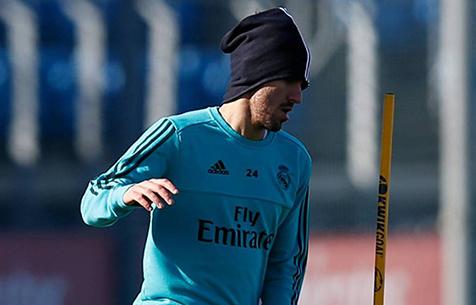 Себальос вернулся к тренировкам с мячом