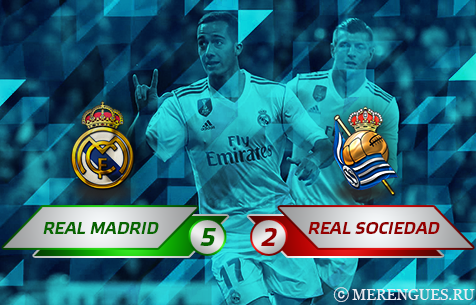 Real Madrid C.F. - Real Sociedad S.A.D. 5:2