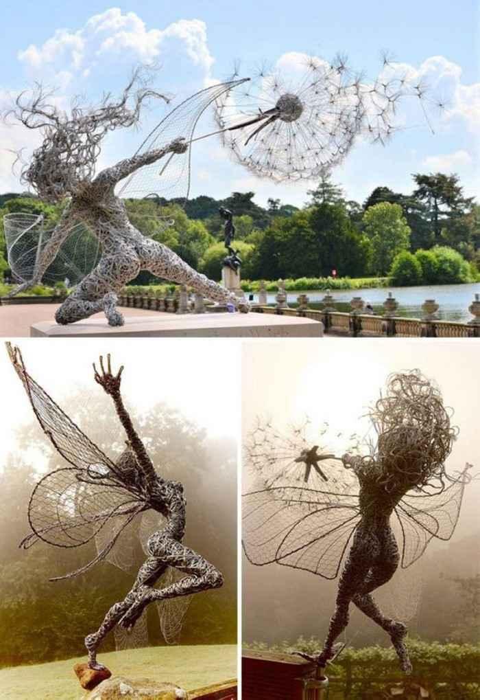 Интересные скульптуры