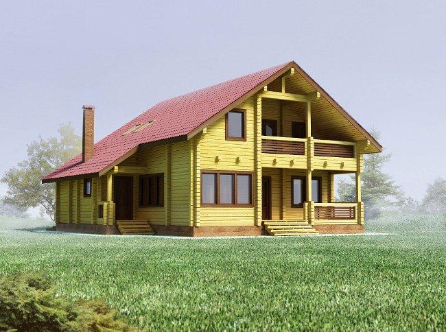 Отличительные особенности древесины при загородном строительстве объектов