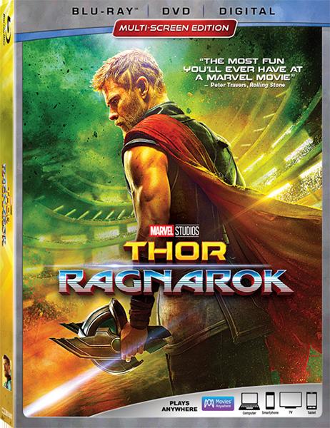 Тор: Рагнарёк / Thor: Ragnarok (2017) BDRip-AVC | DUB (iTunes)