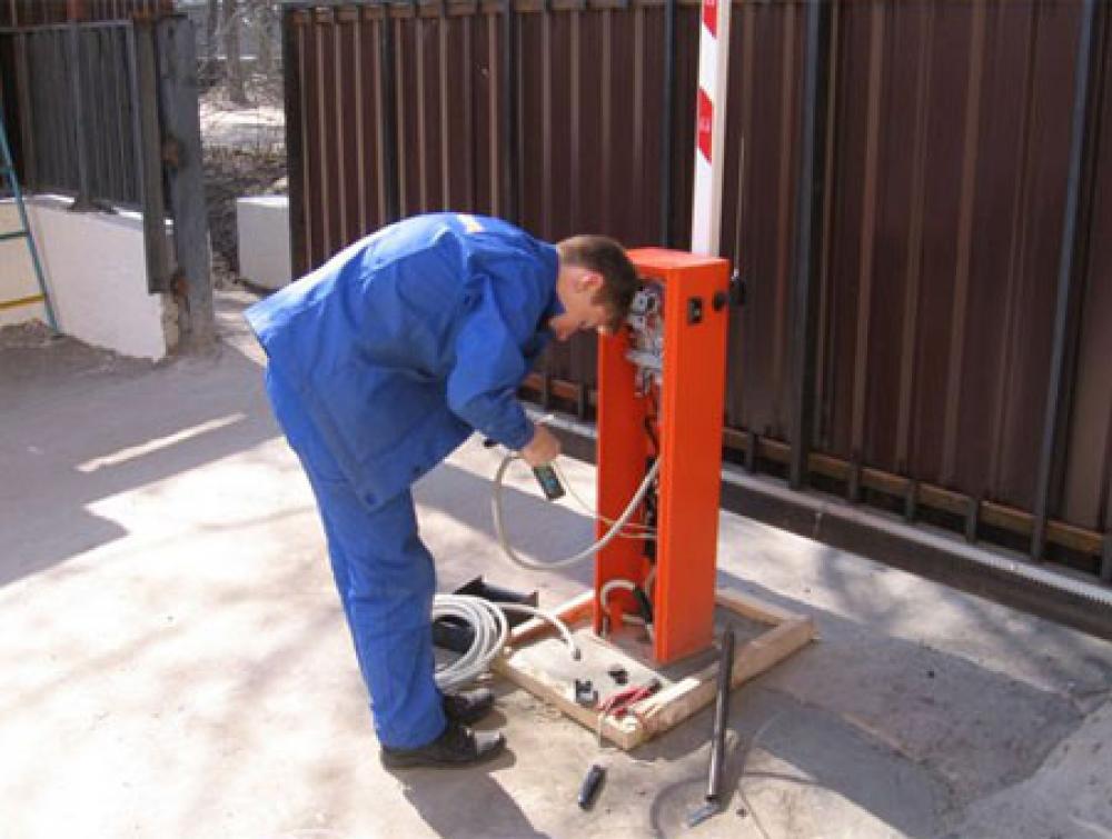 ремонт шлагбаумов в Боровске