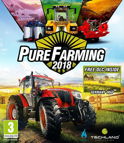 Pure Farming 2018: Digital Deluxe Edition [v 1.2.0 + 11 DLC] (2018) PC | RePack