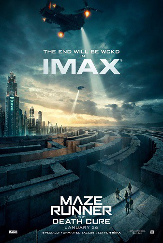 Maze Runner The Death Cure 2017 720p HC HDRip X264 AC3-EVO