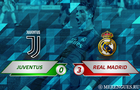 Juventus F.C. - Real Madrid C.F. 0:3