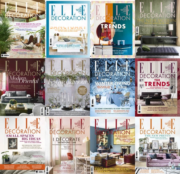 Elle Decoration UK - 2017 Full Year