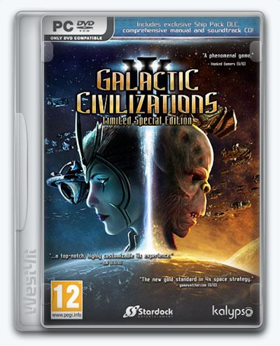 Galactic Civilizations III / Galactic Civilizations 3 (2015) [Ru/En] (3.0/dlc) License CODEX