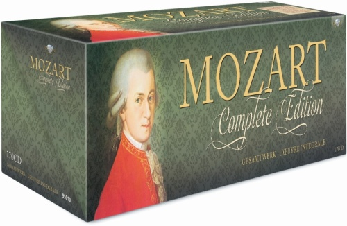 Wolfgang Amadeus Mozart - The Complete Mozart Edition (180CD) (2006)