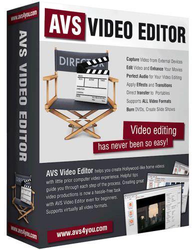 AVS Video Editor 8.0.4.305