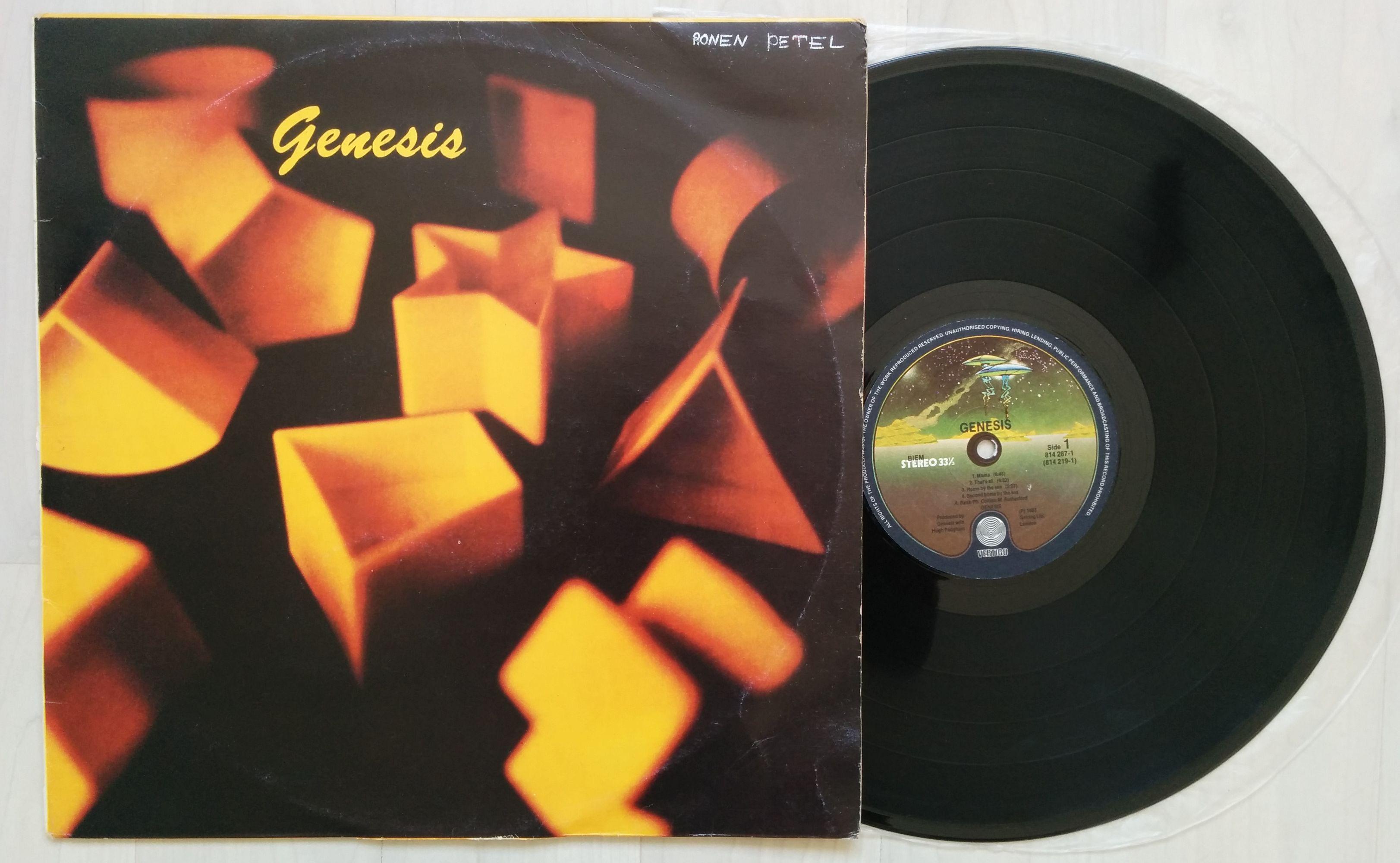 GENESIS - Genesis (vertigo Spaceship Label (small Writing On Cover))