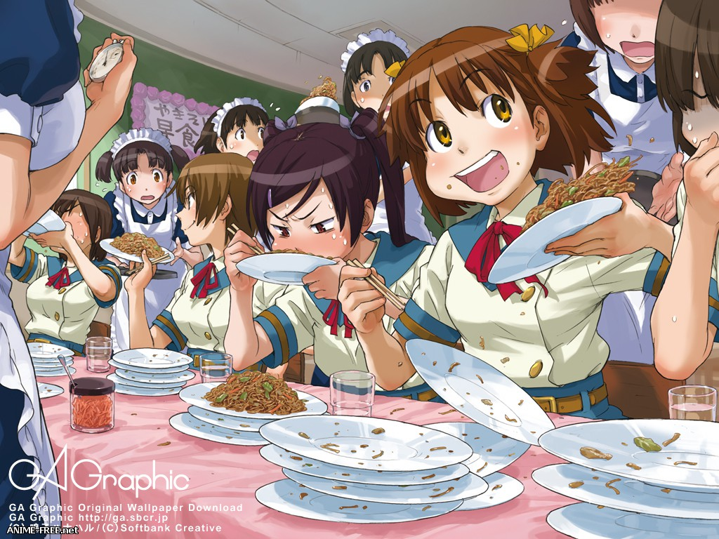 Naruko Hanaharu / Naruco Hanaharu / Uchuu Ryokou Kyoukai / STS - Сборник хентай манги [Ptcen] [ENG,RUS,JAP] Manga Hentai