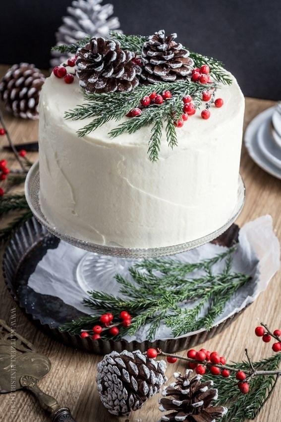 Зимний тортик