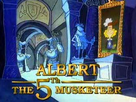Альберт - пятый мушкетёр / Albert the Fifth Musketeer / Albert le cinquième mousquetaire / Сезон: 1 / Серии: 4-26 из 26 (Ален Сион / Alain Sion) [1993, мультсериал, TVRip] Dub