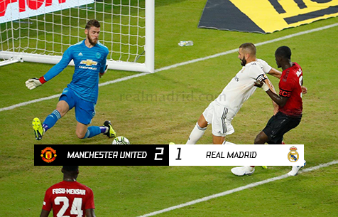 Manchester United F.C. - Real Madrid C.F. 2:1