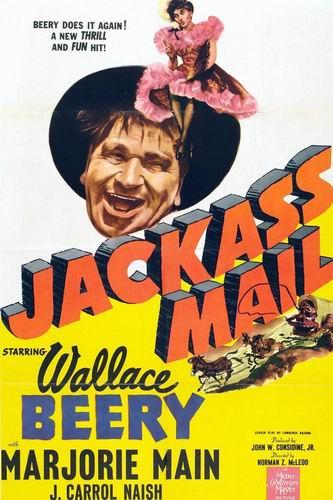 Ослиная почта / Jackass Mail (Норман З. МакЛеод / Norman Z. McLeod) [1942, США, вестерн, мелодрама, комедия, DVD5 (Custom)] VO (Алексей Багичев) + Original Eng