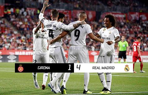Girona FC - Real Madrid C.F. 1:4