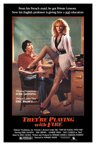 ��� ������ � ���� / They're Playing with Fire (1984) BDRip 1080p