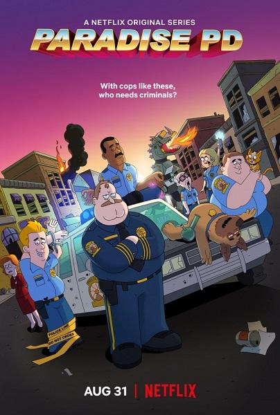 Полиция Парадайза  / Paradise PD [S01] (2018) WEBRip | ColdFilm