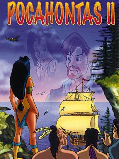 Покахонтас 2: возвращение Джона Смита / Pocahontas 2: The Return Of John Smith (Иниго Берасатеги / Inigo Berasatege, Даниэль Бендито / Daniel Bendito) [1996, США, анимация, VHSRip] VO
