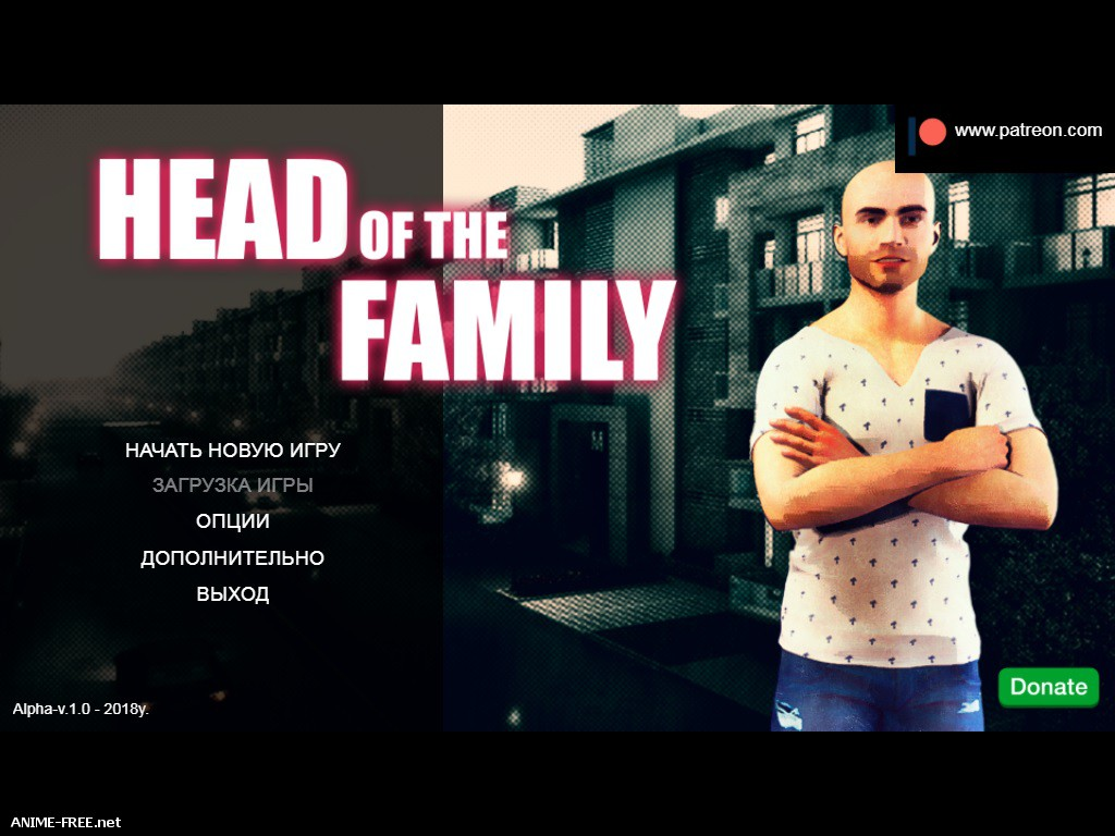 Head Of The Family / Глава семьи [2018] [Uncen] [ADV, 3DCG, Animation] [ENG,RUS] H-Game