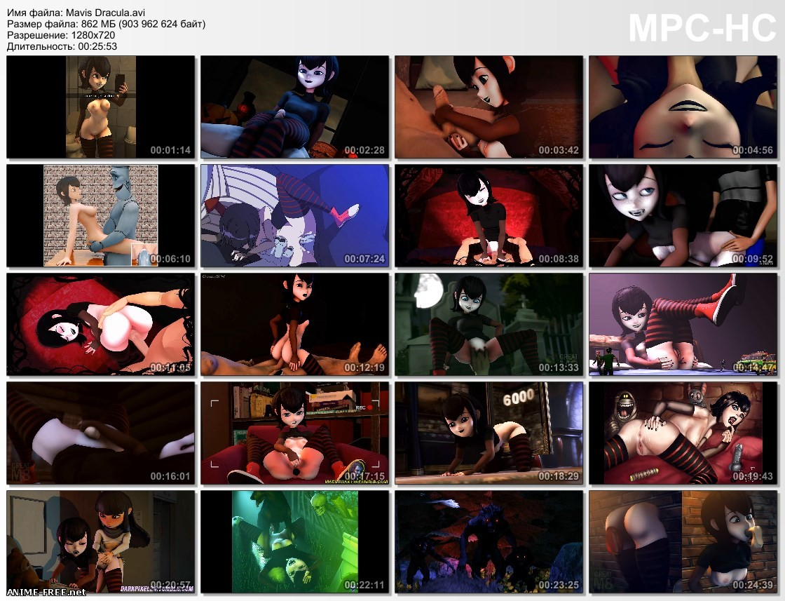Mavis Dracula [2018] [Uncen] [720p] [ENG] 3D-Hentai