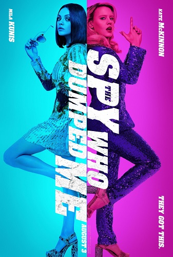 The Spy Who Dumped Me 2018 720p HC HDRip X264 AC3-EVO