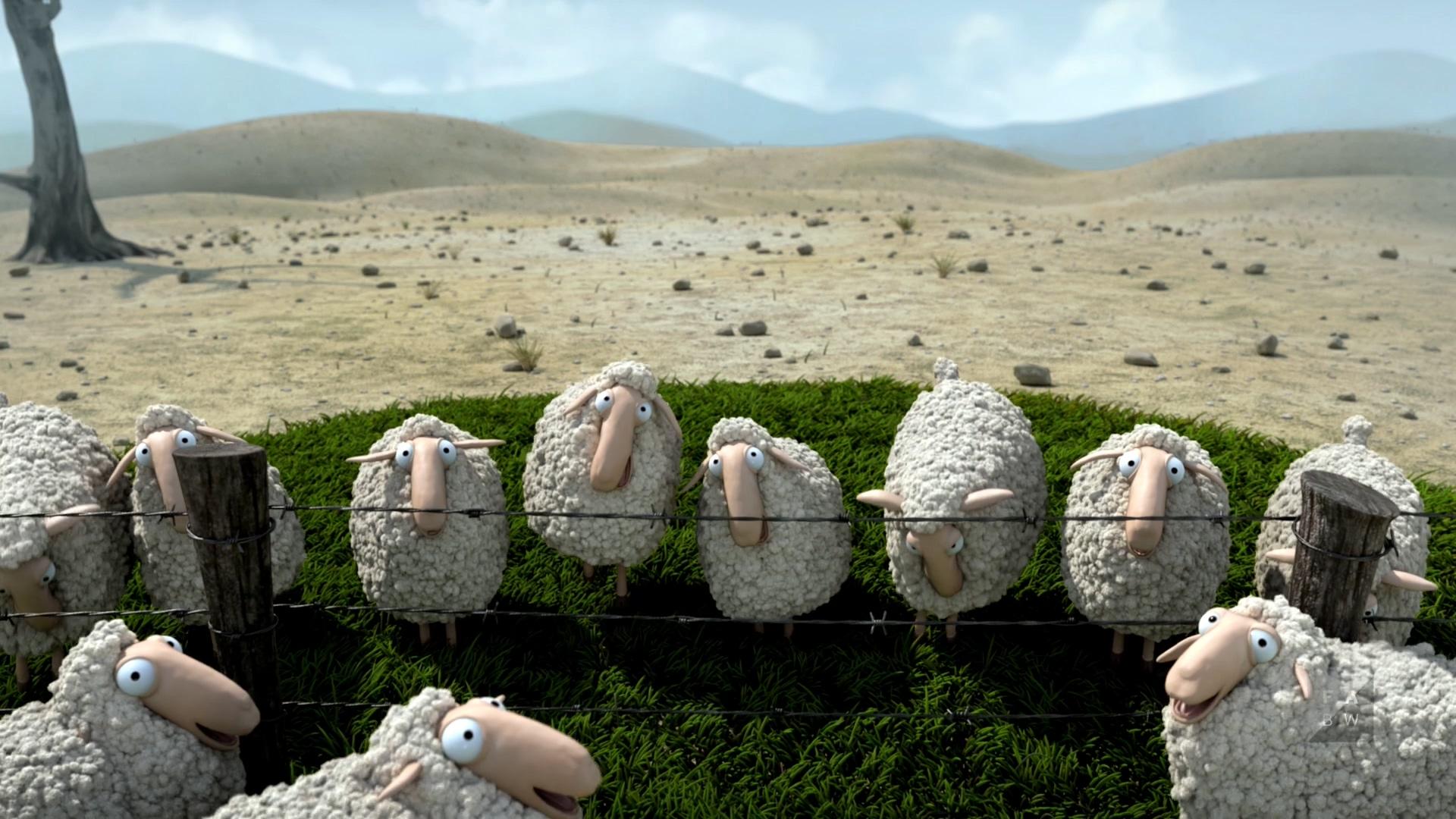 О овцы! / Oh Sheep! (2012/WEBRip) 1080p