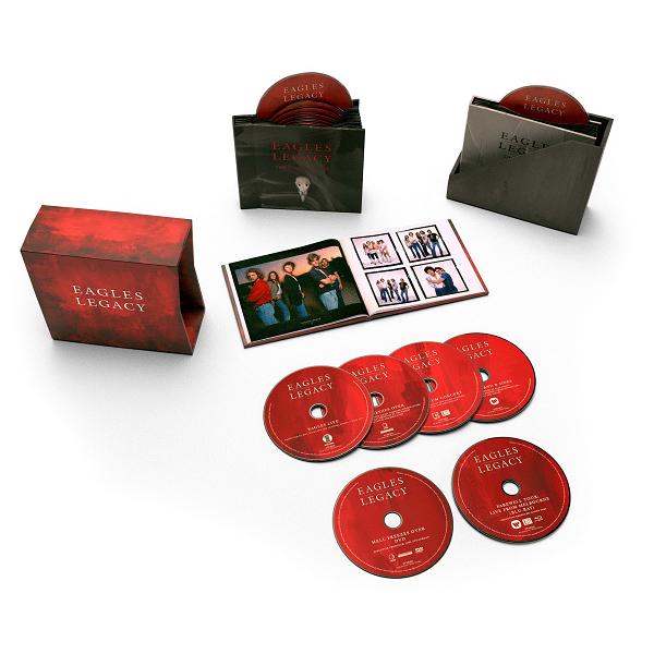 Eagles - Legacy [12CD] (2018) FLAC  скачать торрент
