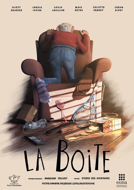 Коробка / La Boite (2017) WEBRip 1080p