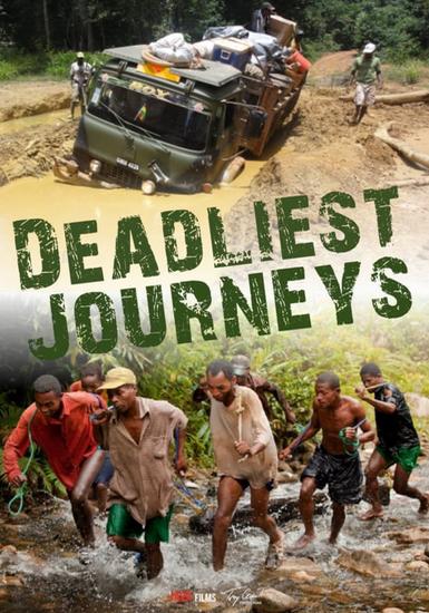 самые опасные путешествия / Deadliest Journeys (тони комити / Tony Comiti) / 23 серии [2012-2015, документальный, познавательный, HDTV 1080i]