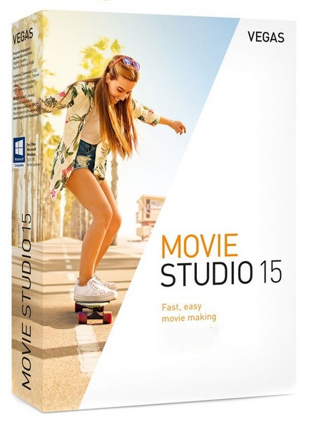 MAGIX VEGAS Movie Studio v15.0.0.146