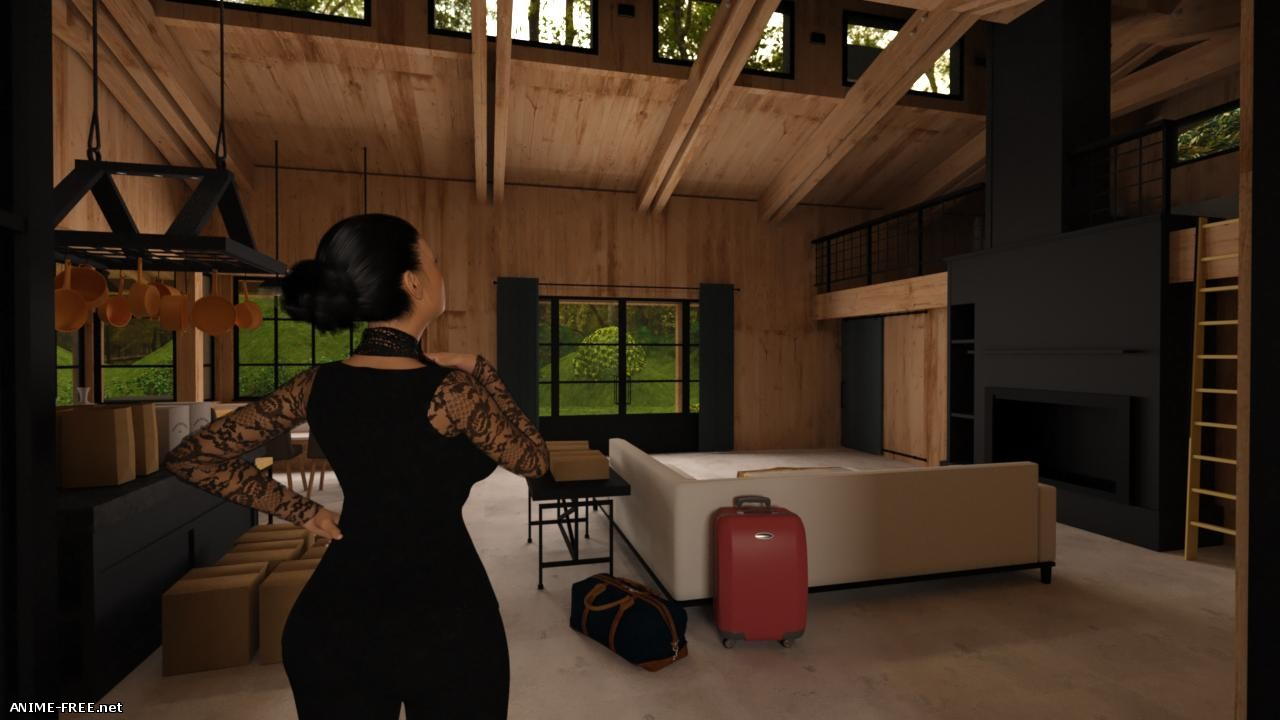 Back To The Cabin [2018] [Uncen] [ADV, 3DCG] [ENG,RUS] H-Game