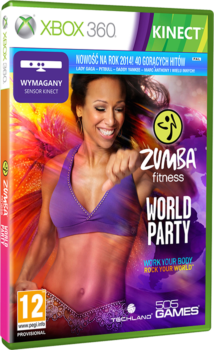 [XBOX360] [KINECT] Zumba Fitness World Party [ISO][PAL / ENG / MULTI / LT+3.0]