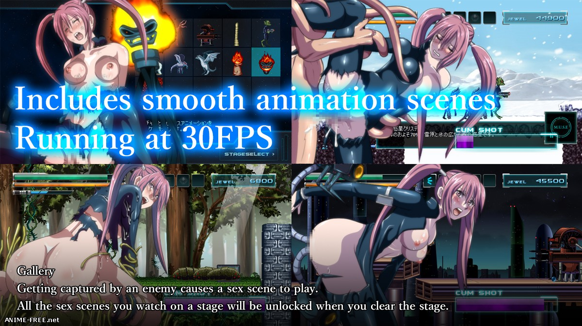 NOCE [2018] [Cen] [Action, Animation] [JAP,ENG] H-Game