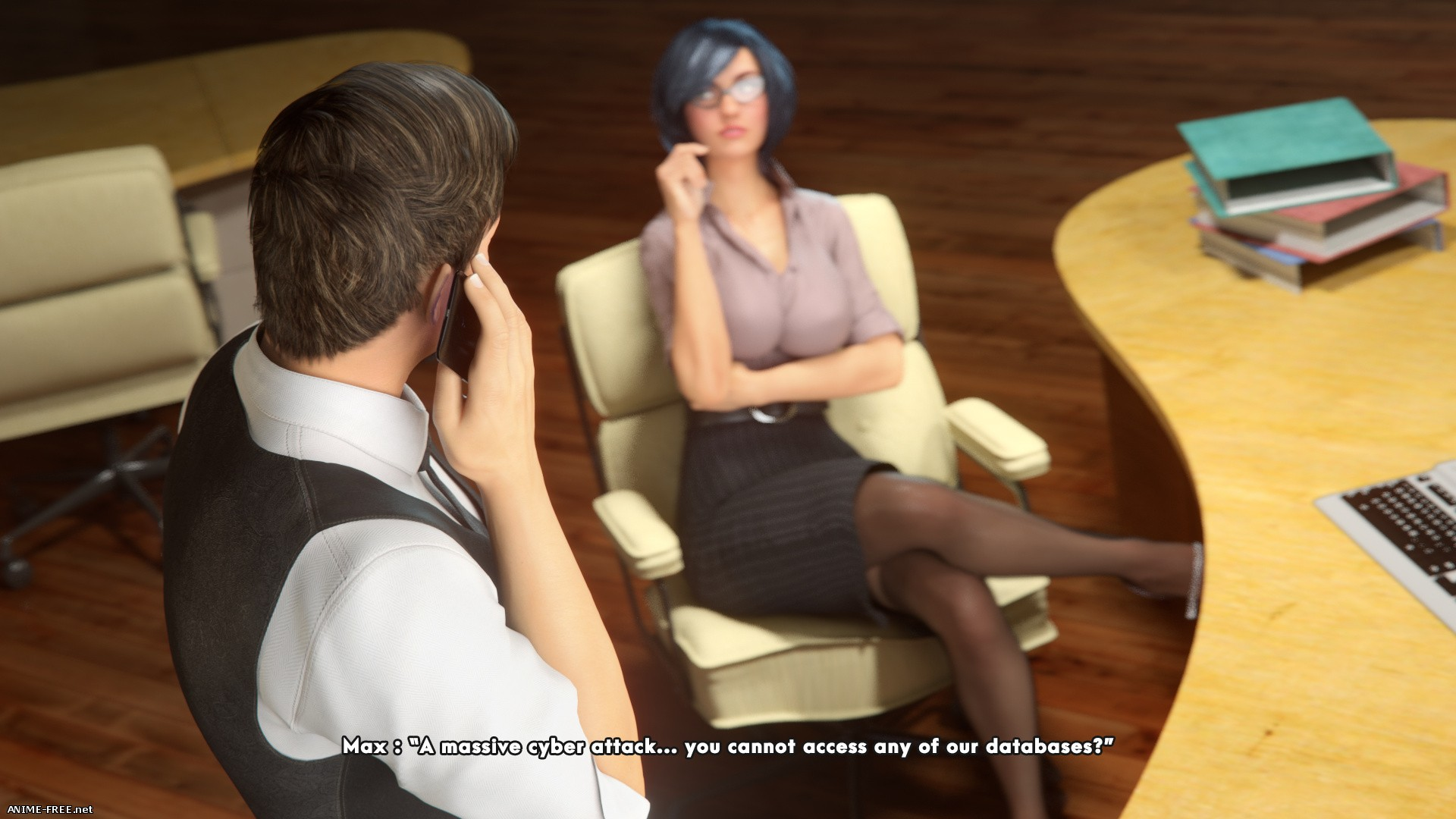 Overtime [3DCG] [Uncen] [ENG] Porn Comics