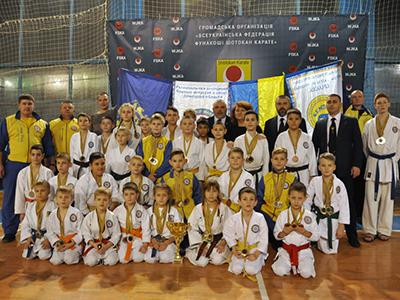 Чемпионат Украины «Ukraine Open — 2018» по каратэ-джицу