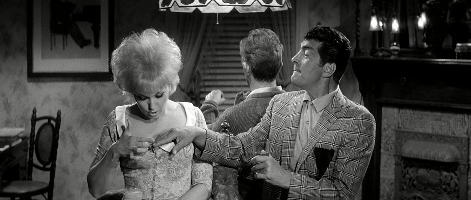 Поцелуй меня, глупенький / Kiss Me, Stupid (1964/BDRip) 1080p
