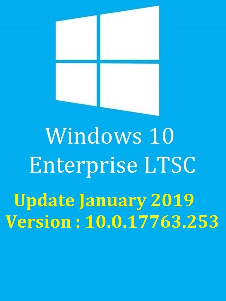 Windows 10 Redstone 5 Enterprise LTSC Multi-6 (x64) January 2019