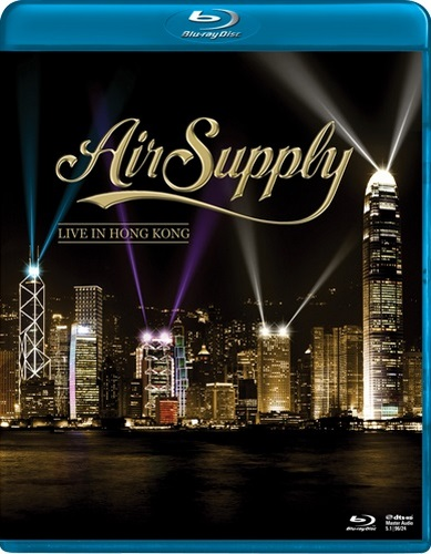 Air Supply - Live in Hong Kong (2013, Blu-Ray)