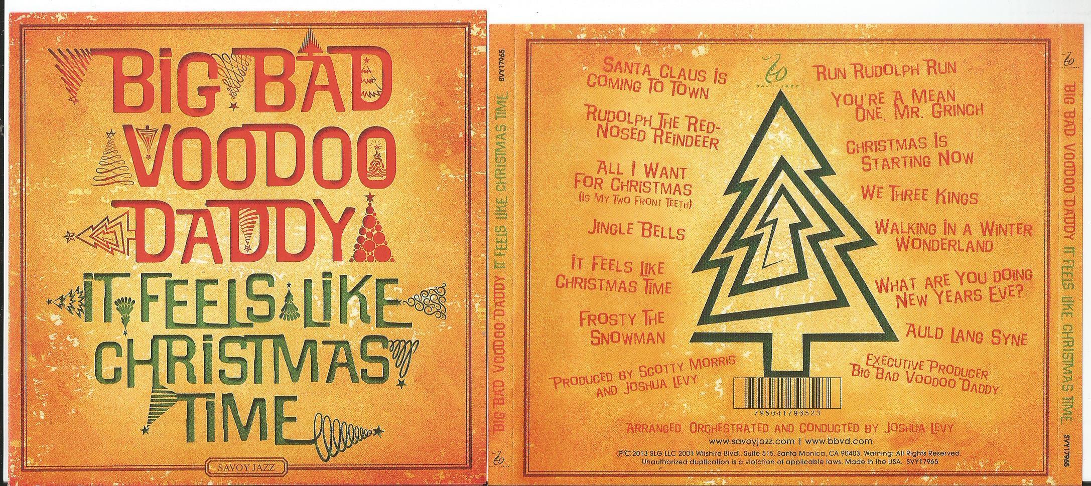Big Bad Voodoo Daddy It Feels Like Christmas Time