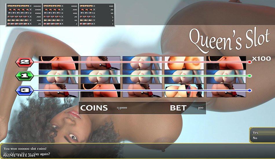 Queen's Coast Casino [2019] [Uncen] [ADV, 3DCG] [ENG] H-Game