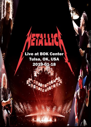 Metallica - Live at BOK Center (2019, DVD9)