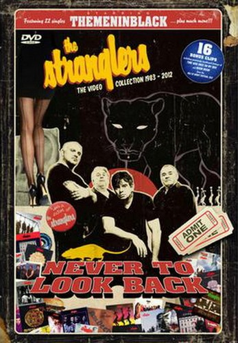 The Stranglers - Never To Look Back. The Video Collection 1983-2012 (2013, DVD9)
