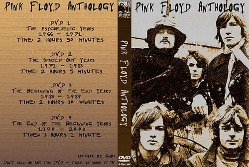 Pink Floyd - Видео anthology 1966-2003 (2007, 4xDVD5)