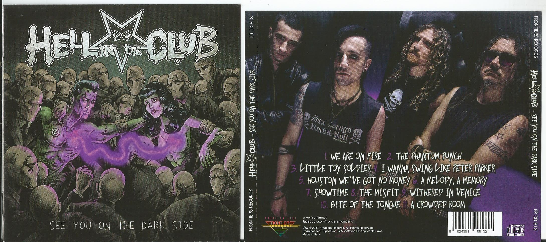 HELL IN THE CLUB See You On The Dark Side (12page booklet with lyrics)