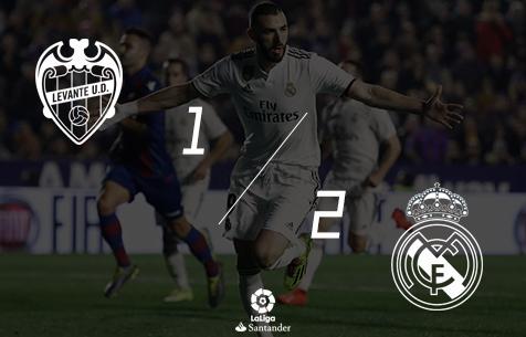 Levante UD - Real Madrid C.F. 1:2