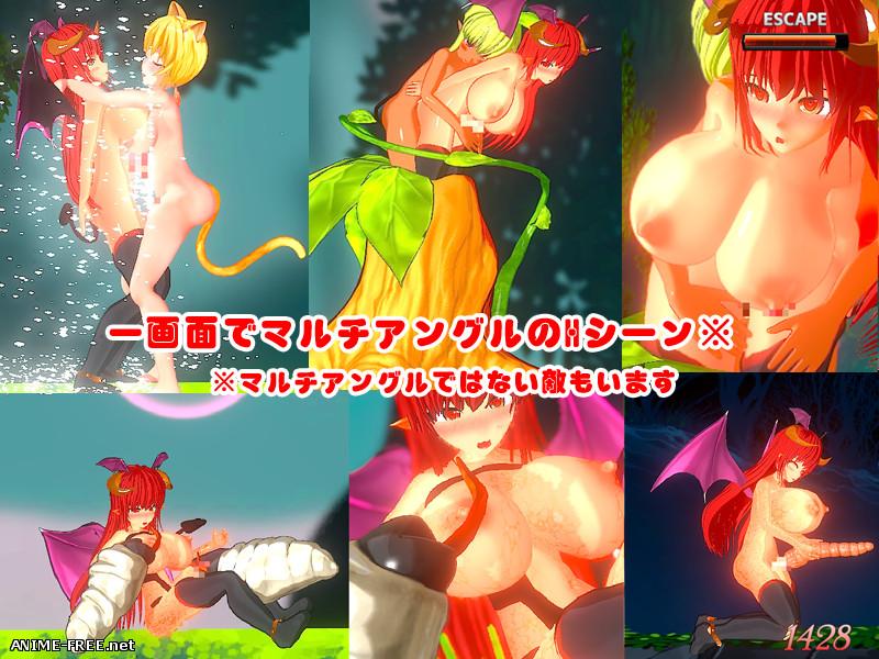 Futanari succubus ReaseLotte Adventure 4 Mastema's Conspiracy [2019] [Cen] [Action, 3DCG] [ENG,JAP] H-Game