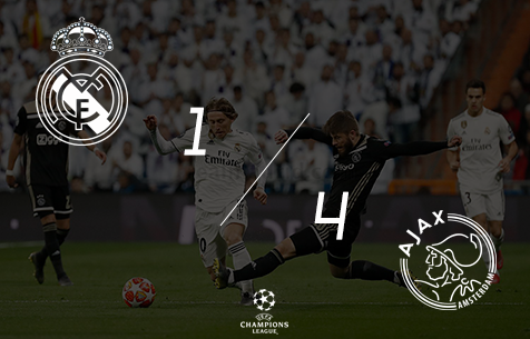 Real Madrid C.F. - A.F.C. Ajax 1:4